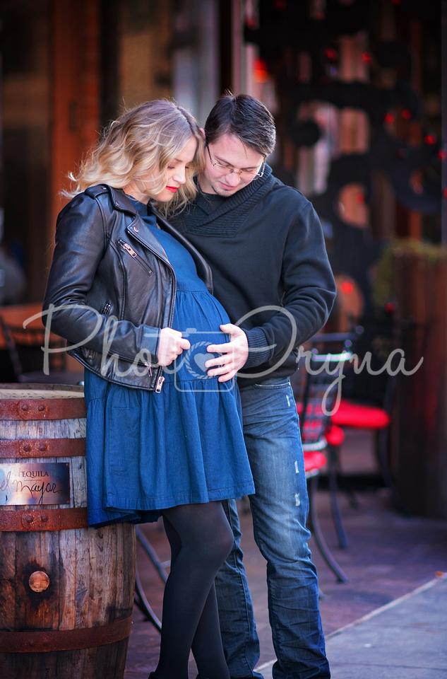 Downtown Birmington Maternity Session
